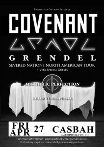 Covenant, Grendel, Aesthetic Perfection, Peter Turns Pirate @ Casbah San Diego | San Diego | CA | United States